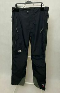 Men's The North Face Summit Series Perfomance Shell Ski Snow Pants Size L Black