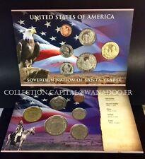 USA 2012 Sovereign Nation of Santa Ysabel Indians 1,5,10,25,50 CTS Plus $1