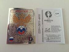 Panini Euro 2016 Ek Em Sticker France Logo no. 124 Russia - Mint