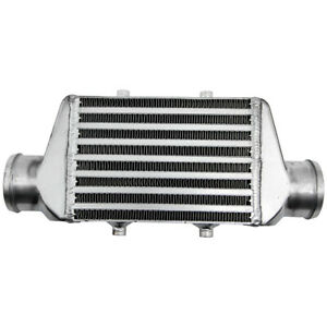 "Aluminum Mini 2.5"" Intercooler 200 x 140 x 65MM Bar & Plate 2.5inch 65mm Outlets"