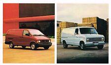 1990 Ford ECONOLINE / AEROSTAR Van Brochure / Catalog : E-150,250,350,XL,4WD,