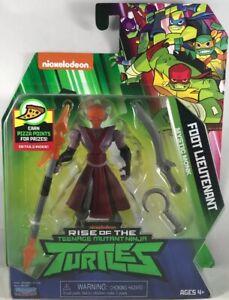 Rise of the Teenage Mutant Ninja Turtles Foot Lieutenant Action Figure FREE SHIP