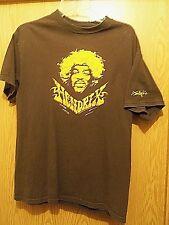 Jimmi Hendrix brown graphic Medium t shirt