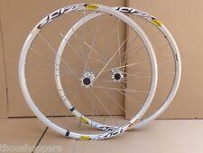 "New Mavic Crossride 3CR 27.5"" MTB 6-bolts Mountain Bike F&R Silver Wheelset"