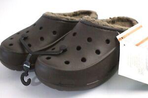 Crocs Freesail Plush lined Womens clog, womens sandals UK Size 5
