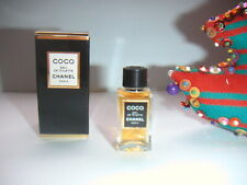 JOLIE & RARE  miniature  COCO   EAU de TOILETTE  de CHANEL pleine + boite NEUVE