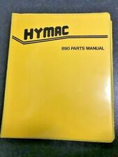 HYMAC 890 Parts Manual (Photocopy of the original)