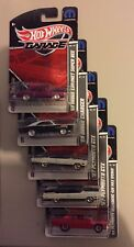 HOT WHEELS 2011 GARAGE SERIES-LOT OF 5-Incl 69 DODGE CHARGER REAL RIDERS