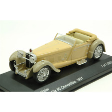 DAIMLER DOUBLE SIX 50 CONVERTIBLE 1931 BEIGE 1:43 Whitebox Auto d'Epoca