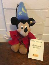 Disney Steiff Sorcerer Mickey Ornament