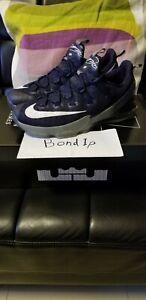 Nike Lebron xiii 13 low Akron zip sample pe promo size 11 XVII svsm Fairfax
