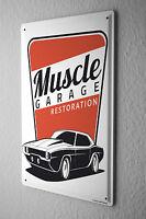 Tin Sign Garage Garage