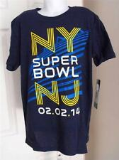NEW - NY NJ SUPERBOWL 2014 YOUTH SMALL (S 8) NFL T-SHIRT BY TEAM APPAREL 56VF