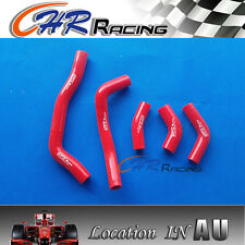 for HONDA CRF450R CRF 450 R 2005 2006 2007 2008 05 silicone radiator hose red