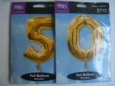 Ballons de fête ballons chiffres dorés pour la maison