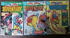 Adventure Comics Lot #471-473
