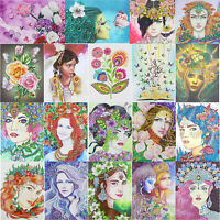 5D DIY Special Shaped Diamond Painting Beauty Cross Stitch Embroidery Mosaic Kit