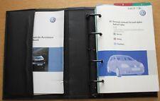 VW GOLF GOLF R32 GOLF GT SPORT V Mk5 HANDBOOK WALLET 2003-2008 PACK 10516