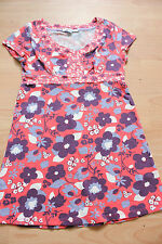 BODEN floral cotton  scoop neck top   size 6p petite  NEW