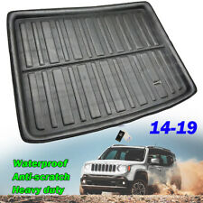 Rear Boot Cargo Liner Trunk Mat Floor Tray Carpet For Jeep Renegade 2014 - 2019