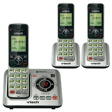 VTech CS6629-3 DECT 6.0 Expandable Cordless Phone with Answering System
