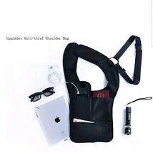 New  Anti-theft Hidden Security Bag Holster Portable Backpack for Phone/ Money/