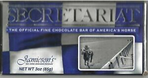 "SECRETARIAT - 30th Anniversary Jamieson's Chocolate ""Belmont Stakes"" Candy Bar"
