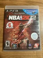 NBA 2K12 (Sony PlayStation 3, 2011) PS3 Complete w/ Manual - TESTED & WORKS