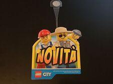 LEGO CITY 2015 novità sticker adesivo vetrina collezionisti sagoma cartoncino