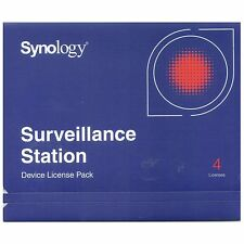 Synology IP Camera 4-License Pack Kit for Surveillance Station - DS413 DS2413+