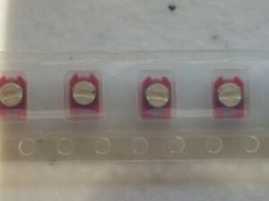 10 pcs Murata TZC03P200A110 Trimmer Capacitor SMD 5 to 20 pF (RED) NPO 100 V
