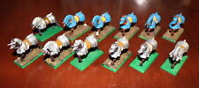 Warhammer Empire Freeguild Armored Horses x12 Games Workshop plastic no tails