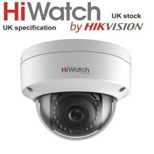 HiWatch By Hikvision IPC-D120 2MP CMOS Network Dome PoE CCTV Camera IR 30m IP67