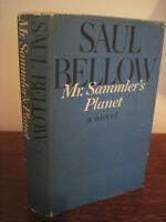 MR. SAMMLER'S PLANET Saul Bellow NOBEL PRIZE 1st Edition First Printing NOVEL