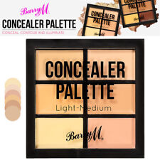 Barry M Concealer Contour and illuminating Cream Texture Palette Light Medium