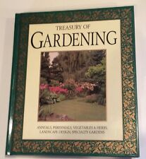 Treasury of Gardening Hardcover Book 576 pages Annuals, Perennials, Vegetables..