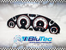 Tachoscheiben für Tacho BMW E46 3er 250kmh - NEW FACE WHITE -
