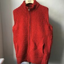 Molto cool GOLDEN GOOSE DELUXE BRAND Rosso Lana Gilet Sz S