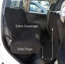 """Large Pet Seat Cover for Truck, Van, large SUV, Trailer 62""""W x 94""""L Black"""
