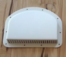 Cargo Trailer Side Wall Vent Cowl Exterior White