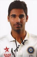 India: Bhuvneshwar Kumar Signed 6x4 Test Portrait Photo+Coa