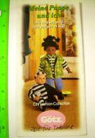 Gotz Dolls Inc 1998 Trade Sample Catalogue * City Fashion Baby * models GERMANY