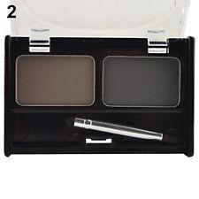 FJ- Vogue New Eyebrow Powder Cosmetic Kit Brush Eyebrow Cake Makeup Palette Set