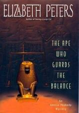 The Ape Who Guards the Balance Elizabeth Peters, First Edition First Printing