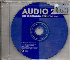 AUDIO 2 CD SINGOLO PROMOZIONALE 1 TRACCIA Un tramonto azzurro MADE in ITALY