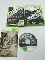 Microsoft Xbox 360 CIB Complete Tested Sniper Elite V2 Ships Fast