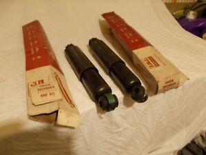 Lot/2 NOS 1962 Lincoln Shock Absorbers Rear Fomoco Never Installed C2VY18125 B&D