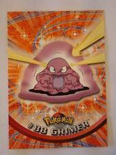 #88 Grimer - 2000 Topps Pokemon Series 2 Official Trading Card Mint