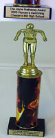 UNDER THE DOME set used prop~ CHESTER'S MILL High School SWIMMING TROPHY Award