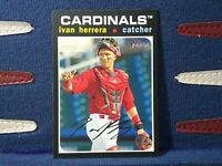 2020 Topps Heritage Minor League #59 Ivan Herrera Palm Beach Cardinals